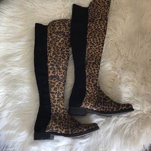 06ec7abe8a72 Unisa Shoes | Ungillean Leopard Otk Boot | Poshmark